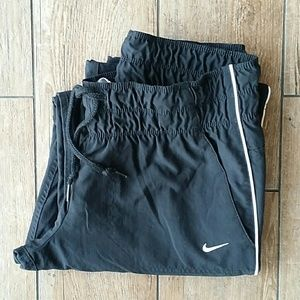 NIKE MESH LINED TRACK PANTS